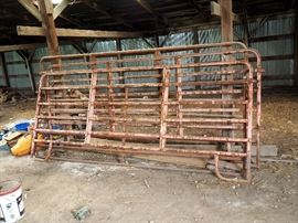 12' Corral Panels, Qty 3, 10' Gate