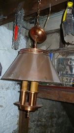 COPPER HANGING LAMP