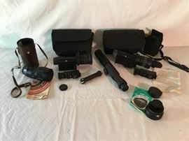 Assorted Camera Lenses          https://ctbids.com/#!/description/share/26607