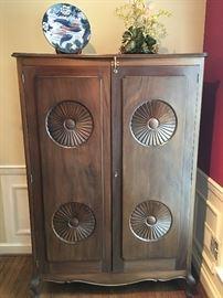 Asian Style Tall Cabinet