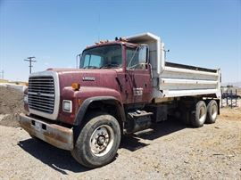 1999 Ford L8000 Dump Truck with 16' Box,