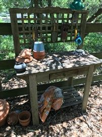 Outdoor Gardening Table