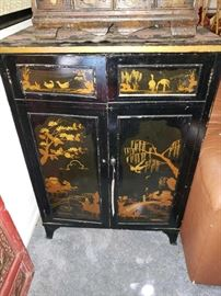 Asian Inspired Cabinet