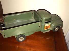 Structo Metal army Truck