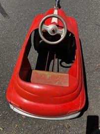 1950 Murray Fire Chief Pedal Car  All Original