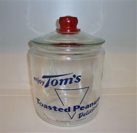 1940'S TOM'S PEANUT JAR - USA