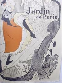 Henri de Toulouse-Latrec poster