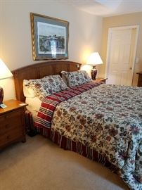Beautiful King-size Thomasville bedroom set.