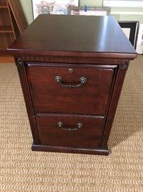 Wood File Cabinet