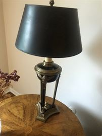 Neoclassical Romanesque style lamp BUY IT NOW $70
