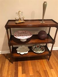 Theodore Alexander Regency Style 3 Tier Console table 32 x 11 x 32T BUY IT NOW $90