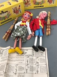 Pair of Pelham Puppets