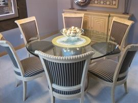 Dining Table with 8 Chairs by Century Furniture, in like new condition.