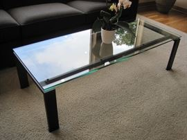 Glass top Coffee Table by Room and Board