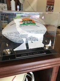 1994 Signed Sun Bowl Game