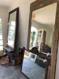 Vintage mirrors  $200 large  $137.50 gilt large  $75.00 gilt Small