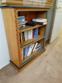 Very cute painted bookcase
