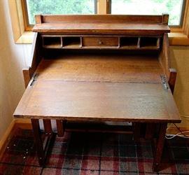 Desk Opened