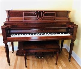 Stunning completely refurbished William Kanabe piano