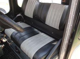 Upgraded seats