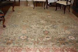 Pottery Barn rug  (10x14)