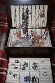Necklaces, Rings, & Earrings
