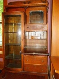 OAK SECRETARY - CHINA CABINET