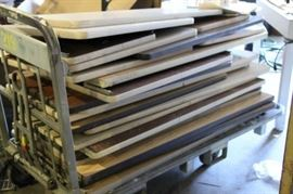 "2"" thick / $10-$30 / Counter top / Desk slabs up to 20"" wide up to 6' long"