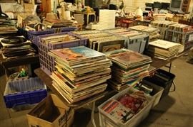 90%  of the LPS are marked $1 EACH ------------------- 70s - 80s Rock / Soul / Classical  / Soundtracks / Country