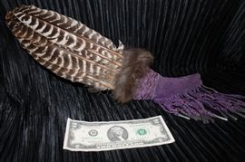 Eagle Feather Native American Decoration