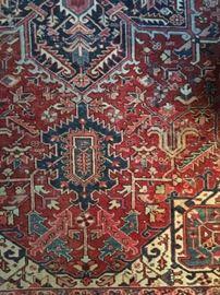 1940's Persian Wool Rug