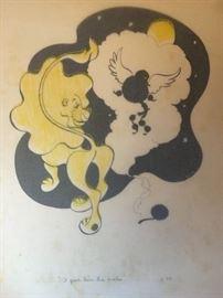 Ben Jorj Harris Ink Illustration Proof