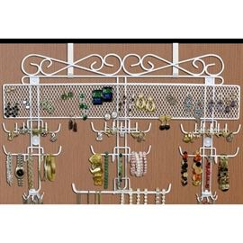 "Organizing Jewelry Valet (White) (14.5""H x 23.75""W ..."