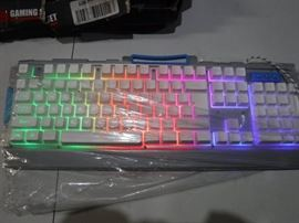 Gaming Keyboard, Fxexblin LED Backlit