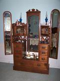 Beautiful old Vanity Dresser!