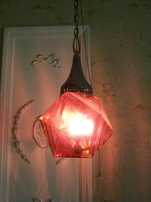 1 of 3 Different Vintage Hanging Lights