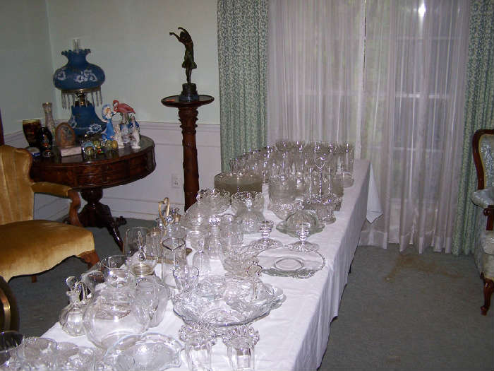 Glassware - and LOTS of it
