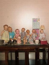 Kewpie Dolls and accessories