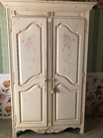 "White Armoire by Ethan Allen 45""x20""x80"""