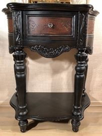 Dark Wood Console by Nordlie, Inc.  no. 80865