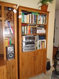 bookcase that matches the entertainment center