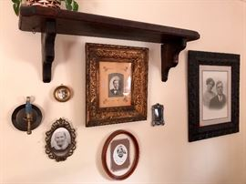 Vintage & antique pictures, frames