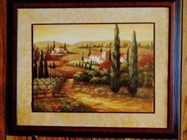 Beautifully framed & matted artwork
