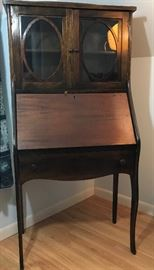 Queen Anne Secretary  http://www.ctonlineauctions.com/detail.asp?id=728662