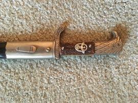 World War II A C Solingen police dress dagger