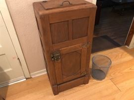 Antique Mission Oak Ice Box