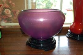 Amethyst Art Glass Early Fenton circa 1933-1935