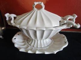 Vintage soup terrine