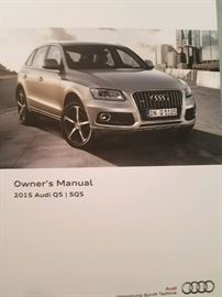 2015 Audi Q5 – 2.OT quattro; Extremely Low Mileage Estate Car