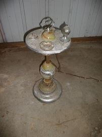 smoking ashtray stand